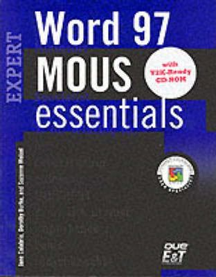 MOUS Essentials Word 97 Expert, Y2K Ready