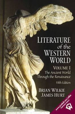 Literature of the Western World: v. 1