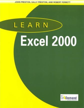 Learn Excel 2000 and CD-ROM and Users Guide Package