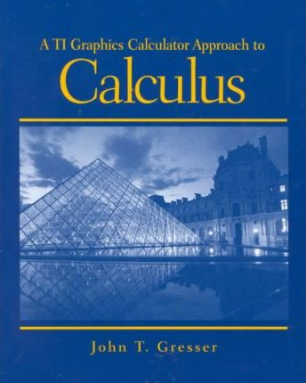 Ti Graphics Calculator Approach to Calculus