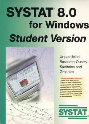 Systat 8.0 for Windows Student Version