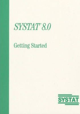 Systat 8.0:Getting Started