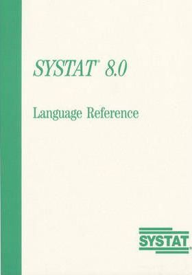 SYSTAT 8.0 for Windows