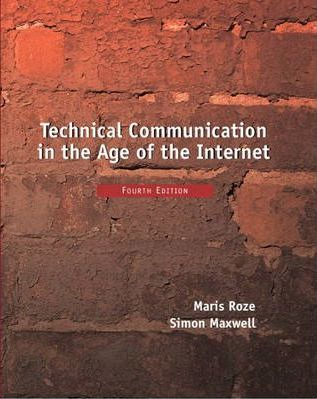 Technical Communication in the Age of the Internet
