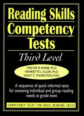 Ready-to-Use Reading Skills Competetency Tests