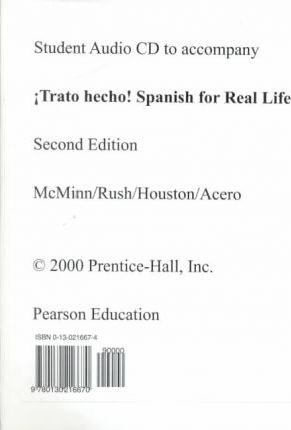 Student Audio CD: Mcminn:Sm Trato Hecho Spanish Cass