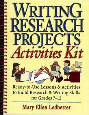 Writing Research Projects Activities Kit1