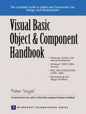 Visual Basic Object and Component Handbook