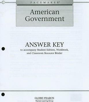 Pacemaker American Government Answer Key