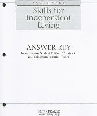 Pacemaker Skills for Independent Living Answer Key