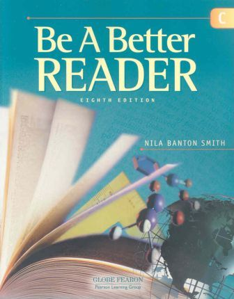 Globe Fearon Be a Better Reader Level C Student Edition 2003c