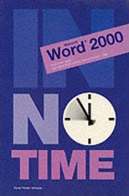 Word 2000 In No Time