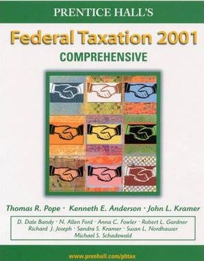 Prentice Hall's Federal Taxation 2001