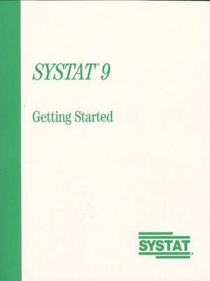 Systat 9.0 Getting Started