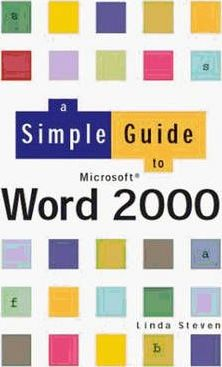 Simple Guide to Word 2000