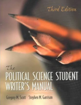 The Political Science Student Writers Nanual