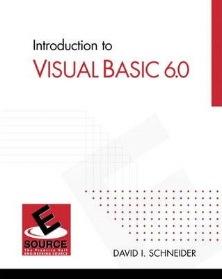 Introduction to Visual Basic 6.0