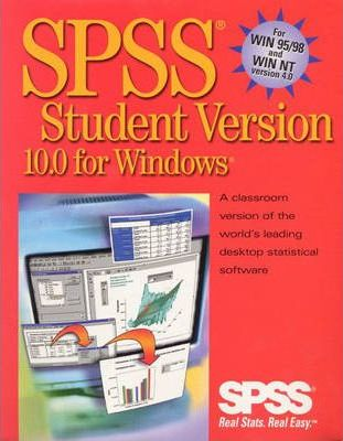 SPSS 10.0 for Windows Student Version