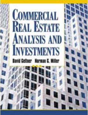 Commercial Real Estate Analysis Investments