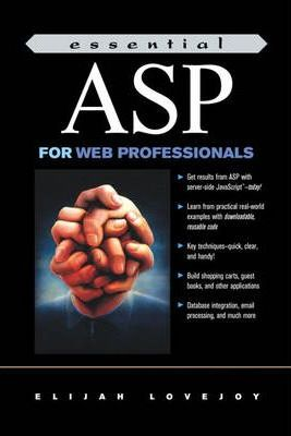 Essential ASP for Web Professionals