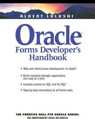 Oracle Forms Developer's Handbook