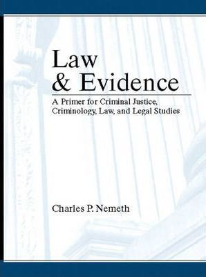 Law and Evidence