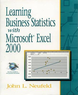 Learning Business Statistics with Microsoft Excel 2000