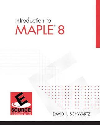 Introduction to Maple 8