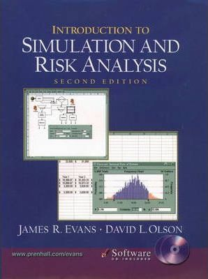 Introduction to Simulation and Risk Analysis