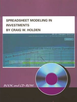 Spreadsheet Modeling in Investments