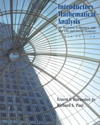 Introductory Mathematical Analysis