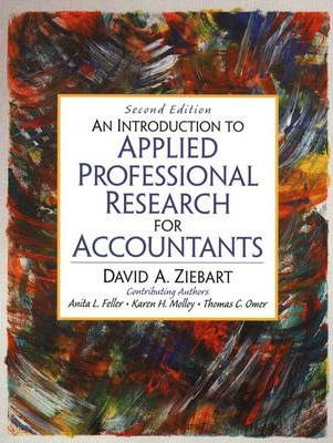 Introduction to Applied Professional Research for Accountants