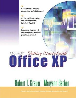 Getting Started with Office XP