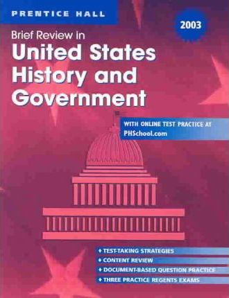 Social Studies Brief Review Us History and Government Student Guide