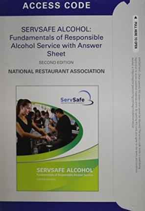 Student Access Code Card for ServSafe Alcohol Online Course for ServSafe Alcohol