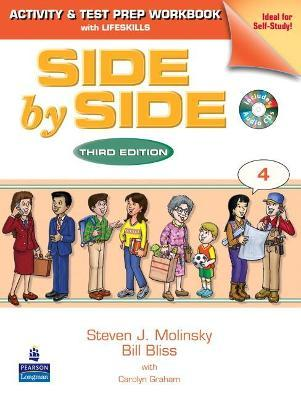 Side by Side 4 Activity and Test Prep Workbook (with 2 Audio CDs)