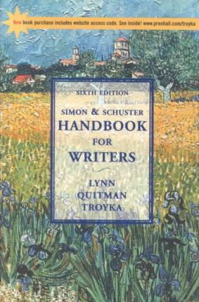 The Simon and Schuster Handbook for Writers