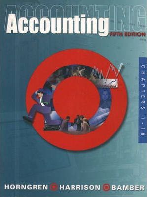 Accounting, Chapters 1-18 and Target Annual Report