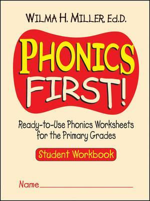 Phonics First - Ready-to-Use Phonics Worksheets for the Primary Grades