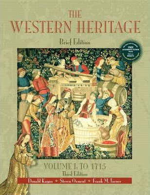 The Western Heritage, Volume I