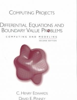 Computing Projects for Differential Equations:Computing and Modeling