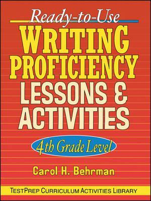 Ready-to-Use Writing Proficiency Lessons and Activities