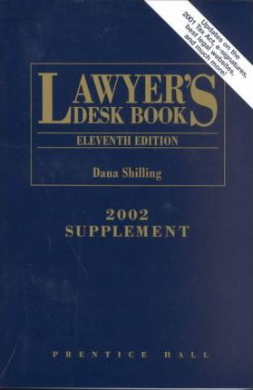 Lawyer's Desk Book