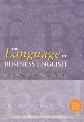 LANGUAGE OF BUSINESS ENGLISH 1st Edition - Paper