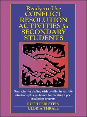 Ready-to-Use Conflict Resolution Activities for SE Secondary Students