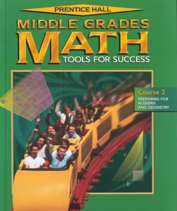 Middle Grades Math Student Edition Course 3 2001c