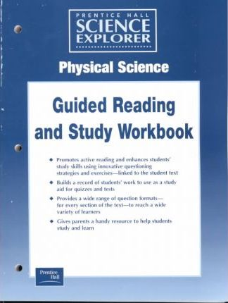 Science Explorer Physcial Science Guided Study Worksheets 2001c