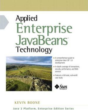 Principles and Applications of Enterprise JavaBeans