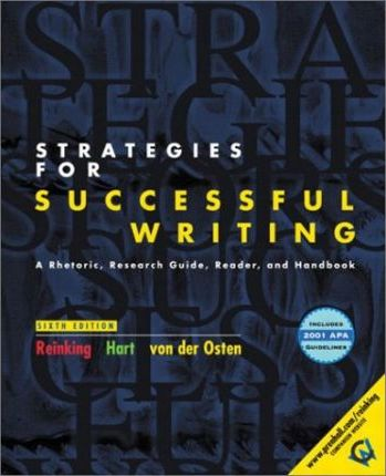 Strategies for Successful Writing with 2001 APA Guidelines