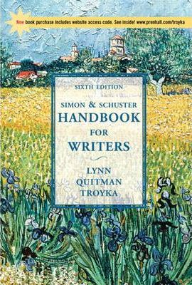 Simon & Schuster Handbook for Writers with Apa Updates & Companion Website Subscription